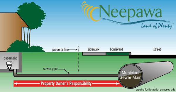 Neepawa sewer line responsibilities